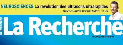 Mickael Tanter interviewed in the French magazine La Recherche