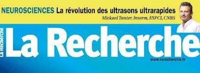 Mickael Tanter interviewed in the French magazine La Recherche