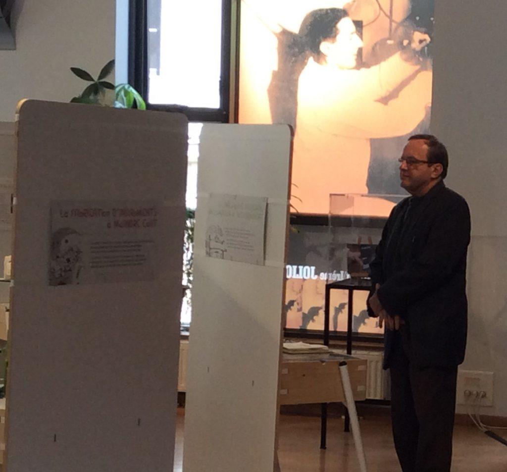 François dans l'expo